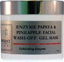Papaya, Pineapple Facial Enzyme Gel Mask  4 oz  Bio France Lab