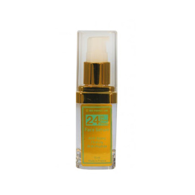 24 Kt Gold Eye Serum  15mil  Bio France  Lab