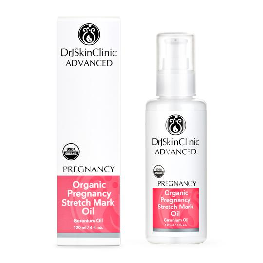 Dr. J. Skin Clinic  Organic Pregnancy Stretch Mark Oil  4 oz.