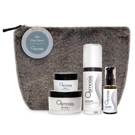 First Snow Holiday Kit, Osmosis Skin Care