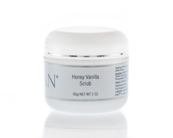 Honey Vanilla Scrub  2 oz   Saian