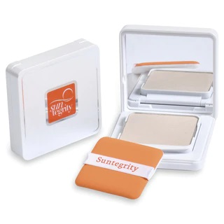 Suntegrity Pressed Mineral Powder Compact, Translucent Broad Spectrum SPF 50